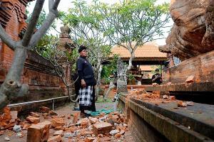 Gempa Merusak 24 Bangunan di Bali