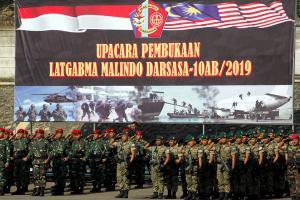 Tangkal Terorisme, TNI dan ATM Latihan Bersama di Sentul