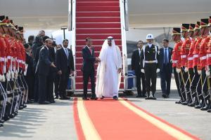 Putra Mahkota Abu Dhabi Kunjungan ke Istana Bogor