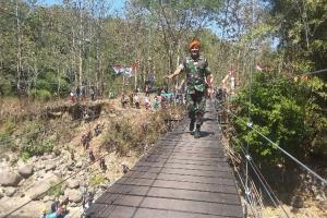 Jembatan Baru, Aktivitas Warga Cibatu-Cibiuk Jadi Lancar