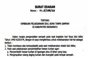 Pemkab Indramayu Terbitkan Edaran untuk Panitia Kurban
