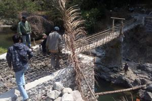 Pemprov Jabar Bangun 23 Jembatan Gantung