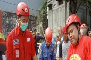 PMI Bogor Evakuasi Penerjun yang Tersangkut di Menara BTS