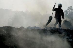 Kebakaran Hutan di Cigadog Berpotensi Kembali Terjadi