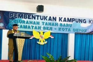 Kampung KB Depok Bangun Ketahanan Keluarga