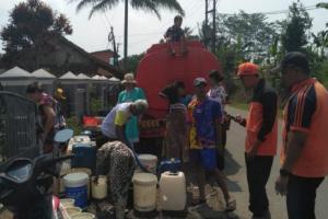 Titik Kekeringan di Sukabumi Terus Meningkat