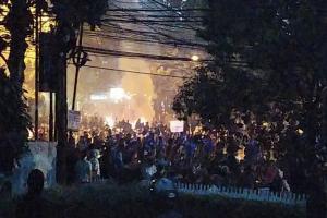 Polda Jabar Duga Oknum Provokator di Balik Kericuhan Demo