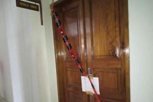 Dua Ruangan di Dinas PUPR Indramayu Disegel
