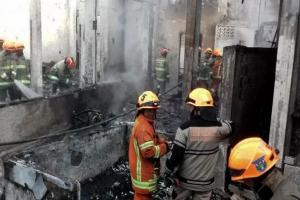 Kantor Paskibra Kota Bandung Kebakaran