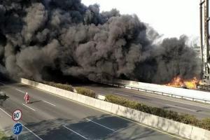 Kebakaran Hebat Terjadi di Cimahi