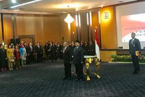 Sertijab Menhan RI, Ryamizard Yakin Prabowo Paham Tugasnya
