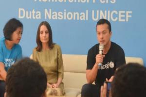 Unicef Indonesia Tunjuk Nicholas Saputra Sebagai Duta