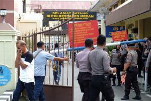 Aktivitas Polrestabes Bandung Berjalan Normal