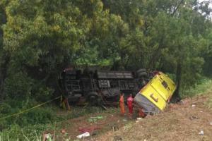 Kecelakaan Maut di Tol Cipali, Diduga Sopir Mengantuk