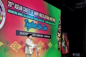 Menhan Prabowo: Ada Pergerakan Dinamis yang Mengancam Negara-negara di ASEAN