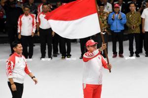Kontingen Indonesia Diminta Masuk Dua Besar SEA Games 2019