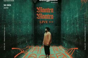 Kunto Aji akan Gelar Konser Bertajuk 'Mantra Mantra'