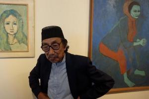 Maestro Lukis Jeihan Sukmantoro Berpulang