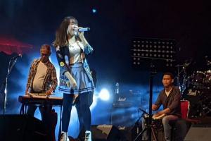 Lagu Andalan Via Vallen Hangatkan IJJF 2019