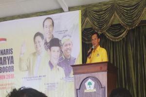 DPD Golkar Bogor Usul Pencabutan Moratorium Bagi DOB