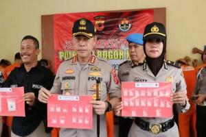 November 2019, Polresta Bogor Kota Proses 11 Perkara Narkoba