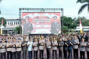 Kapolda Jabar Resmikan Polresta Bandung