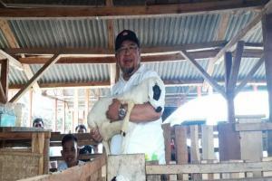 ACT Luncurkan Lumbung Ternak Wakaf di Tasikmalaya