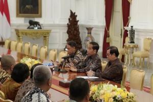 Terima PSSI, Jokowi Minta Persiapan U-20 Secara Matang