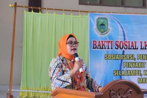 Ketua LKKS Kuningan Sosialisasi Cegah Penyakit Gondok