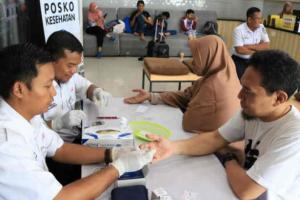 KAI Cirebon Berikan Layanan Kesehatan Gratis