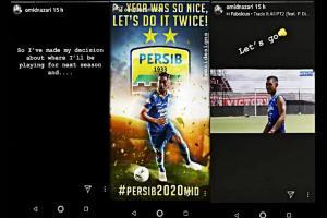 2020, Omid Nazari Masih Bersama Persib Bandung