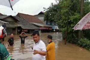 Wilayahnya Banjir, Bupati Bandung Barat Ultimatum PT KCIC