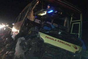 Kecelakaan di Tol Cipali, Dua Tewas