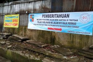 Pemkot Bogor Tingkatkan Kesejahteraan PKL Melalui Relokasi