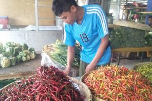 Harga Cabai Rawit di Cianjur Tembus Rp100 ribu per kilogram