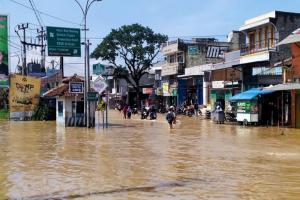 Empat Kecamatan di Kabupaten Bandung Banjir Lagi