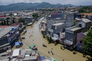 15 ribu Lebih Rumah Warga Kabupaten Bandung Terendam Banjir