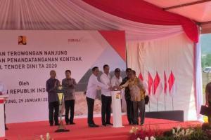 Presiden Jokowi: Terowongan Nanjung Bagian dari Sistem Pengendali Banjir
