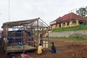 Huntap Warga Cigudeg Ditargetkan Selesai Sebelum Ramadan