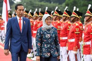 Presiden Singapura Bertemu Presiden Jokowi di Istana Bogor