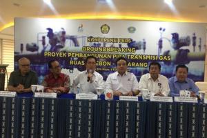 Jumat, BPH Migas 'Groundbreaking' Pipa Gas Bumi Cirebon-Semarang