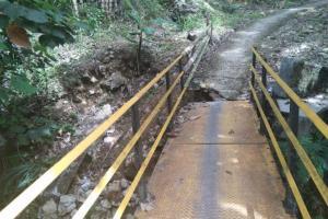Jalan ke Geopark Ciletuh Dikepung Banjir dan Tanah Longsor