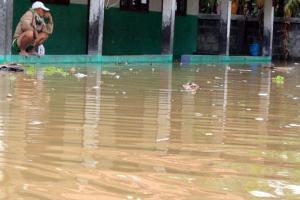 Ribuan Rumah Warga di Karawang Terendam Banjir