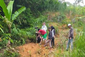 BPBD Cianjur dan BPCB Banten Antisipasi Meluasnya Longsor di Gunung Padang