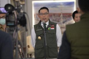 Gubernur Jabar Sampaikan Belasungkawa ke Presiden Jokowi