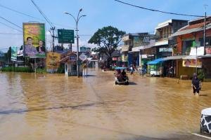 Curah Hujan Tinggi, Kabupaten Bandung Banjir