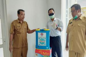 Indocement Donasikan 27 Unit Mesin Sprayer Disinfektan