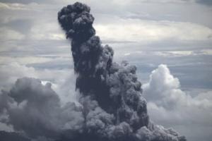 Anak Krakatau Meletus, Suara Dentuman Misterius Terdengar Hingga Bogor dan Sekitarnya
