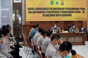 Tengah Malam ini, Pemkot Bandung Siap Terapkan PSBB
