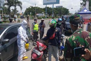 Tim Gabungan di Cirebon Gelar Razia Kendaraan Bermotor